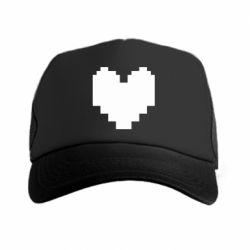 Кепка-тракер Undertale heart