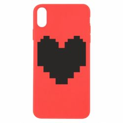 Чохол для iPhone Xs Max Undertale heart