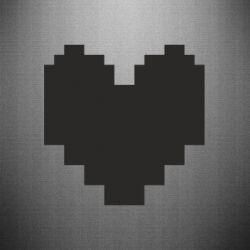 Наклейка Undertale heart