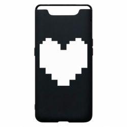 Чохол для Samsung A80 Undertale heart