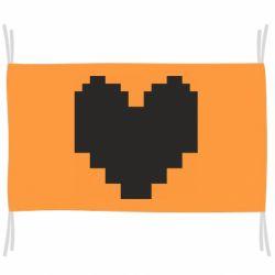 Прапор Undertale heart