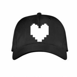 Дитяча кепка Undertale heart