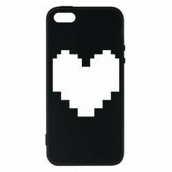 Чохол для iphone 5/5S/SE Undertale heart