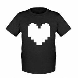 Дитяча футболка Undertale heart