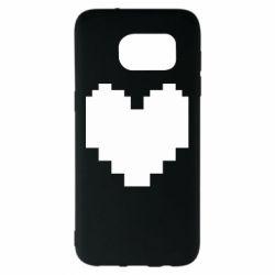 Чохол для Samsung S7 EDGE Undertale heart