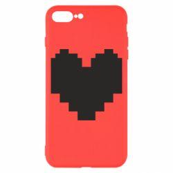 Чохол для iPhone 8 Plus Undertale heart