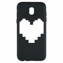 Чохол для Samsung J5 2017 Undertale heart