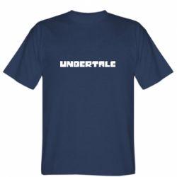 Чоловіча футболка Undertale logo
