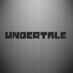 Наклейка Undertale logo