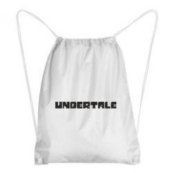 Рюкзак-мішок Undertale logo
