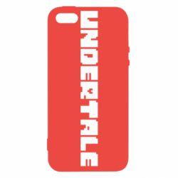 Чохол для iphone 5/5S/SE Undertale logo