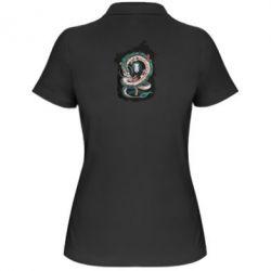 Жіноча футболка поло Віднесені привидами