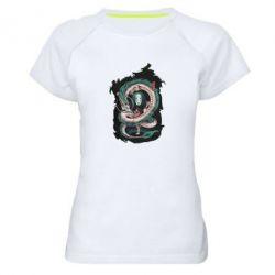 Жіноча спортивна футболка Віднесені привидами