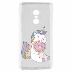 Чехол для Xiaomi Redmi Note 4 Unicorn and cake