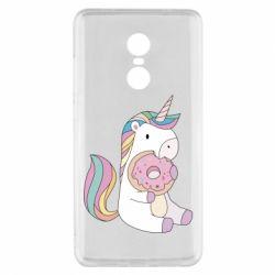 Чехол для Xiaomi Redmi Note 4x Unicorn and cake