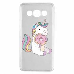 Чехол для Samsung A3 2015 Unicorn and cake