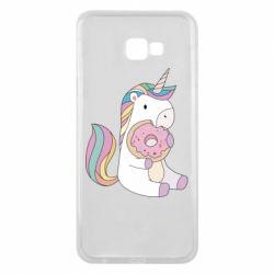 Чехол для Samsung J4 Plus 2018 Unicorn and cake