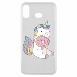 Чехол для Samsung A6s Unicorn and cake