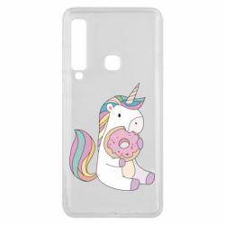 Чехол для Samsung A9 2018 Unicorn and cake