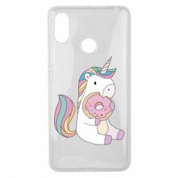 Чехол для Xiaomi Mi Max 3 Unicorn and cake