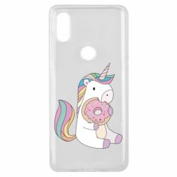 Чехол для Xiaomi Mi Mix 3 Unicorn and cake