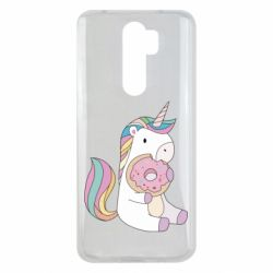 Чехол для Xiaomi Redmi Note 8 Pro Unicorn and cake