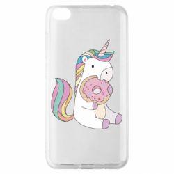 Чехол для Xiaomi Redmi Go Unicorn and cake