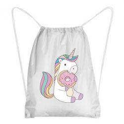 Рюкзак-мешок Unicorn and cake