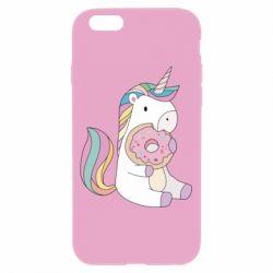 Чехол для iPhone 6/6S Unicorn and cake