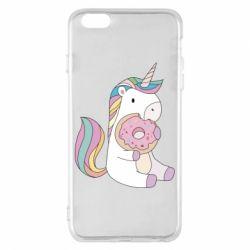 Чехол для iPhone 6 Plus/6S Plus Unicorn and cake