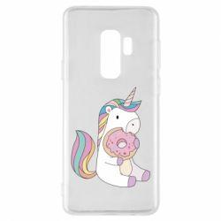 Чехол для Samsung S9+ Unicorn and cake