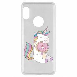 Чехол для Xiaomi Redmi Note 5 Unicorn and cake