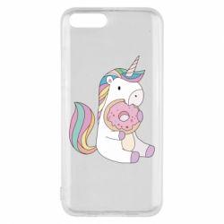 Чехол для Xiaomi Mi6 Unicorn and cake