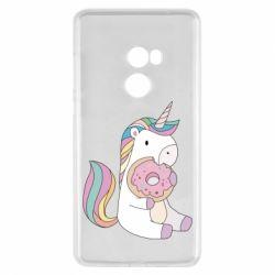 Чехол для Xiaomi Mi Mix 2 Unicorn and cake