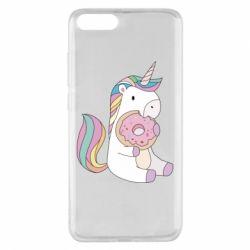 Чехол для Xiaomi Mi Note 3 Unicorn and cake