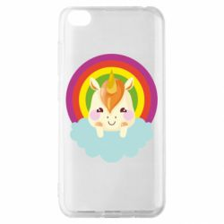 Чехол для Xiaomi Redmi Go Unicorn and cloud