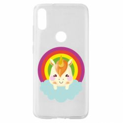 Чехол для Xiaomi Mi Play Unicorn and cloud