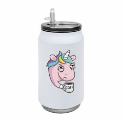 Термобанка 350ml Unicorn and coffee