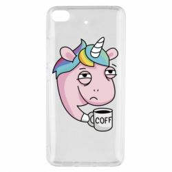 Чохол для Xiaomi Mi 5s Unicorn and coffee
