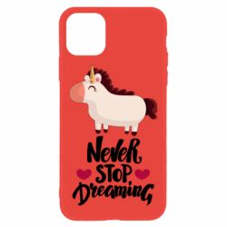 Чехол для iPhone 11 Unicorn and dreams