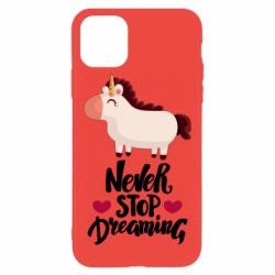 Чехол для iPhone 11 Pro Max Unicorn and dreams