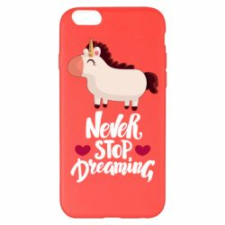 Чехол для iPhone 6 Plus/6S Plus Unicorn and dreams