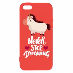 Чехол для iPhone5/5S/SE Unicorn and dreams