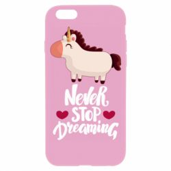 Чехол для iPhone 6/6S Unicorn and dreams