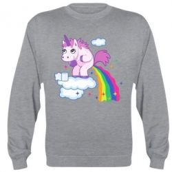 Реглан Unicorn and Rainbow