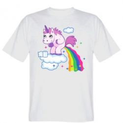 Футболка Unicorn and Rainbow
