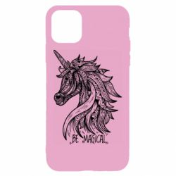 Чехол для iPhone 11 Unicorn and text
