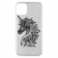 Чехол для iPhone 11 Pro Unicorn and text