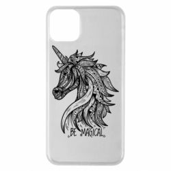 Чехол для iPhone 11 Pro Max Unicorn and text