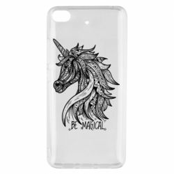 Чехол для Xiaomi Mi 5s Unicorn and text